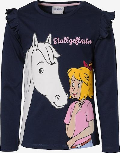 Bibi und Tina Shirt in nachtblau / mischfarben, Produktansicht