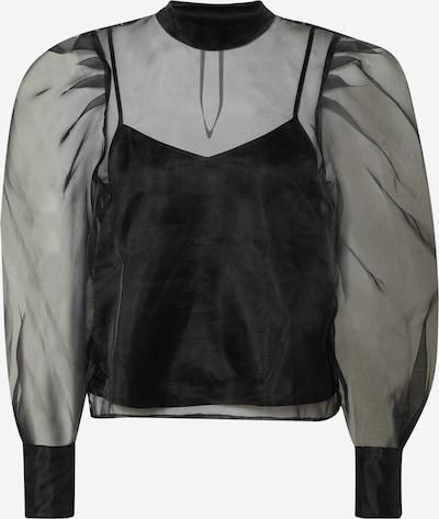 GUESS Bluse 'LS Hortensia' in schwarz, Produktansicht
