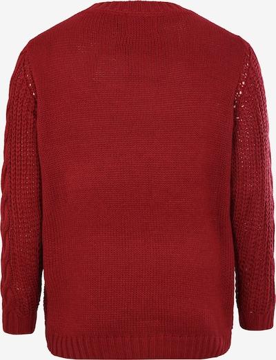 Megztinis 'BETTY' iš Junarose , spalva - raudona: Vaizdas iš galinės pusės