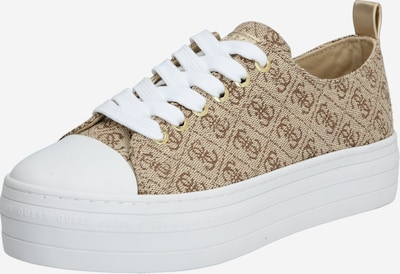 GUESS Damen - Sneaker 'BRIGS5/ACTIVE LADY/FABRIC' in gold, Produktansicht