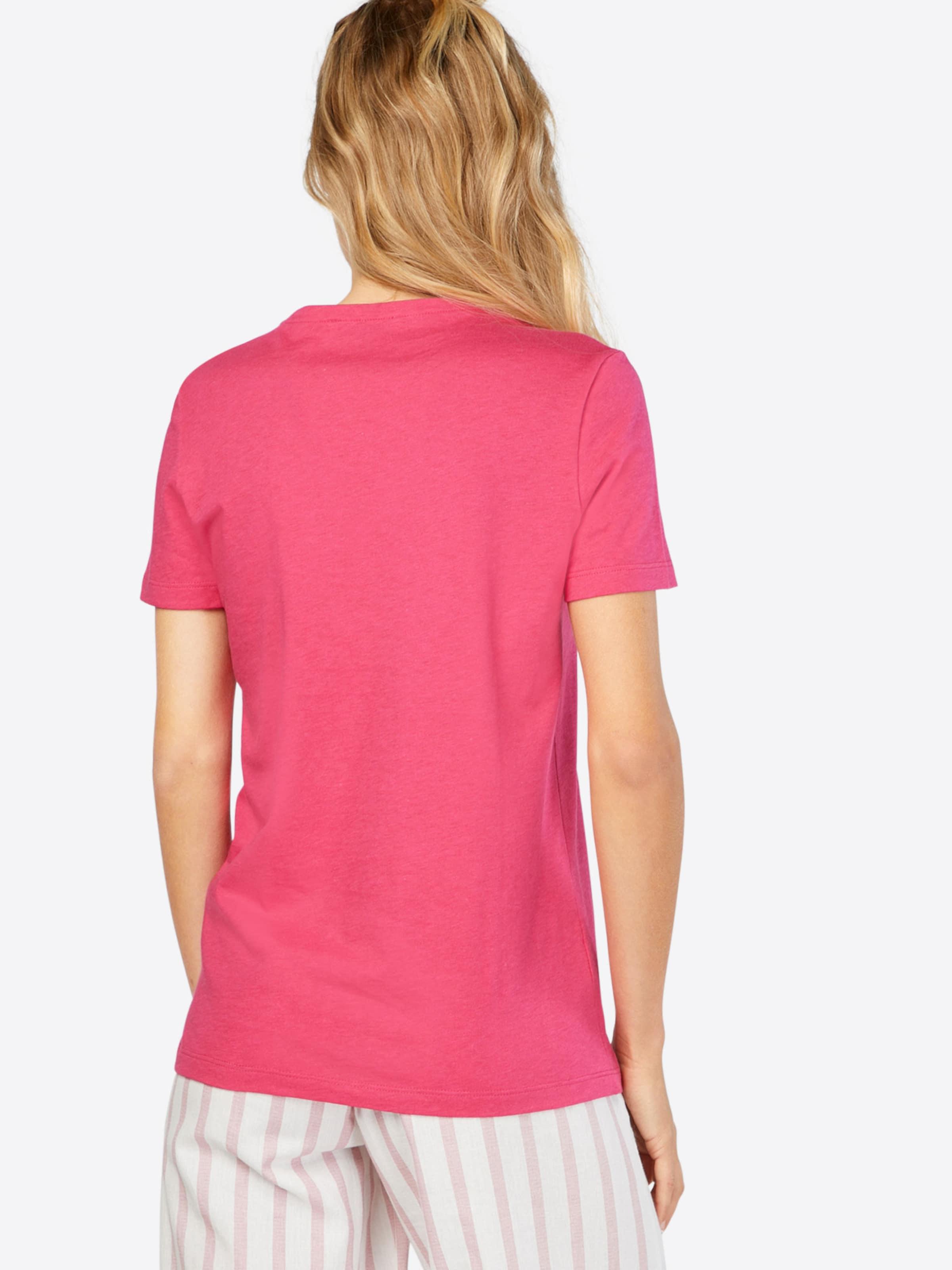 LACOSTE T-Shirt mit Label-Applikation Modestil qKhrffU