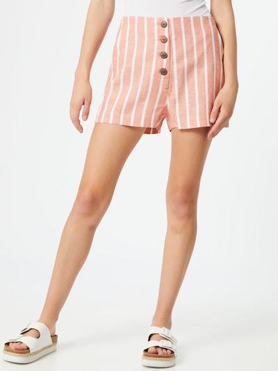 Pimkie Kalhoty 'Papulco' - růžová / bílá, Model/ka