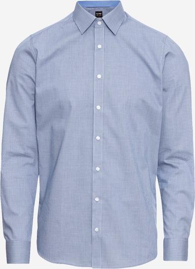 OLYMP Бизнес риза 'Level 5 Faux Uni' в морскосиньо, Преглед на продукта