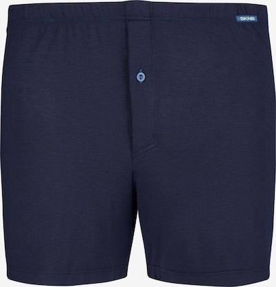Skiny Boxershorts in de kleur Donkerblauw, Productweergave