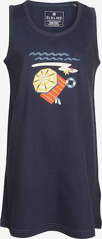 ELKLINE Kleid 'BEACH' in Blau
