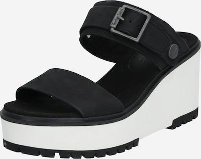 TIMBERLAND Sandale 'Koralyn' in schwarz / weiß, Produktansicht