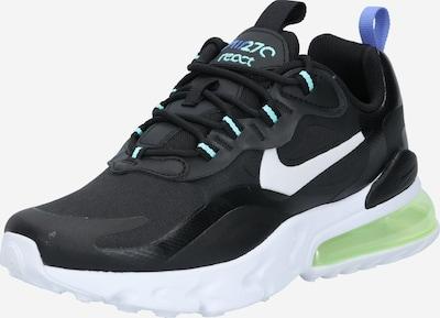 Nike Sportswear Baskets 'Air Max 270 React' en noir / blanc, Vue avec produit