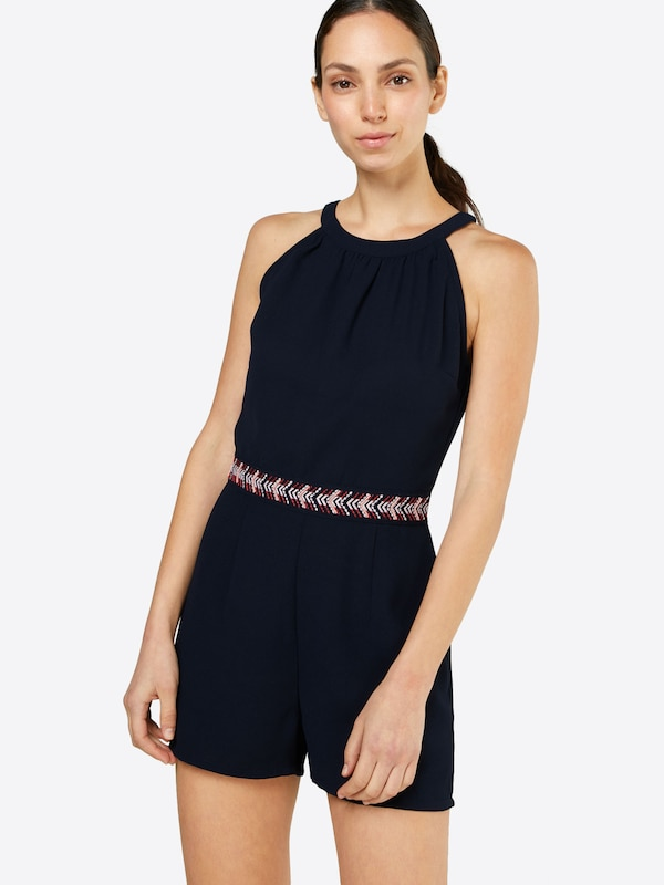 ABOUT YOU Jumpsuit 'Gwendolin' in navy: Frontalansicht