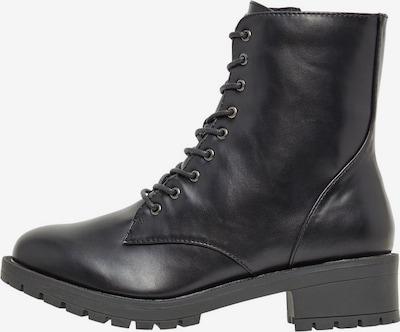 Bianco WIDE FIT Leder Biker Boots in schwarz, Produktansicht