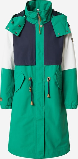 ICEPEAK Outdoormantel 'Algoma' in de kleur Donkerblauw / Groen / Wit, Productweergave