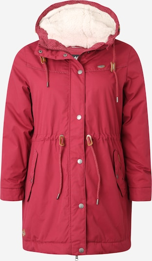 Ragwear Plus Jacke 'CANNY' in rot, Produktansicht