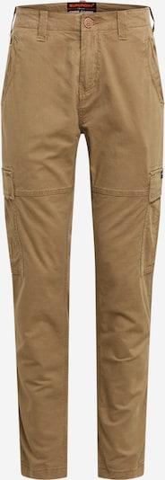 Pantaloni cu buzunare Superdry pe bej, Vizualizare produs
