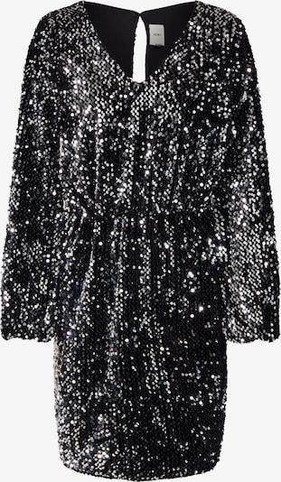Kokteilinė suknelė 'WILDE' iš ICHI , spalva - juoda / Sidabras: Vaizdas iš priekio