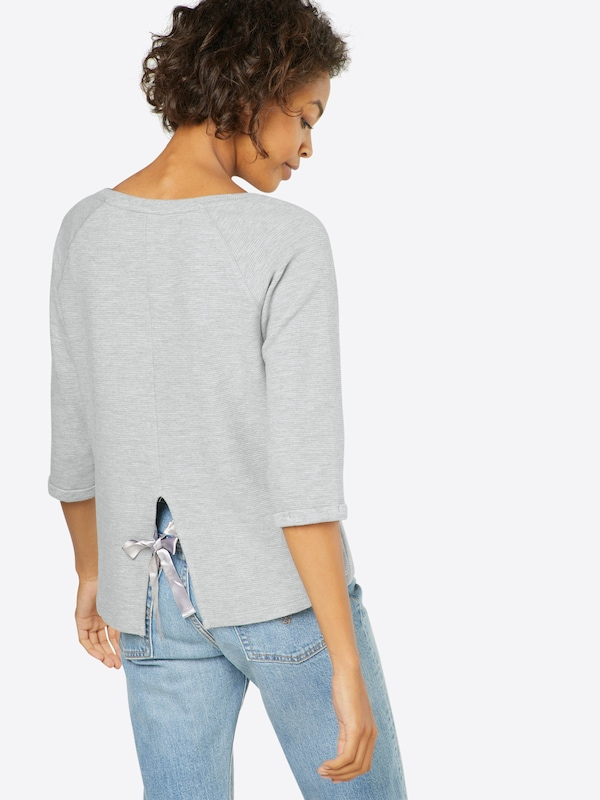 TOM TAILOR DENIM Sweatshirt 'Open back Sweat'