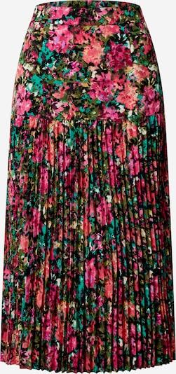 Gina Tricot Jupe 'Beata pleated skirt' en mélange de couleurs: Vue de face