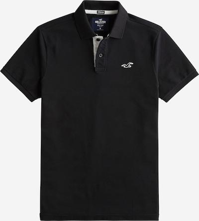 HOLLISTER Poloshirt 'HERITAGE POLO SOLID NEUTRALS' in schwarz, Produktansicht
