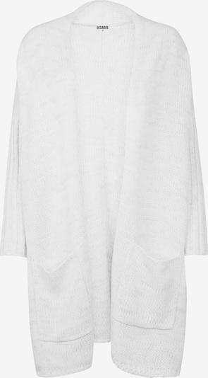 Urban Classics Cardigan in grau / weiß, Produktansicht