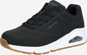 Sneaker bassa 'UNO - STAND ON AIR' di SKECHERS in nero