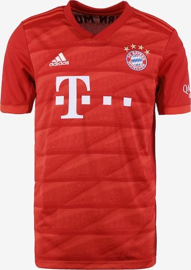 ADIDAS PERFORMANCE Trikot 'FC Bayern München Home Thiago 2019/2020' in rot / weiß, Produktansicht