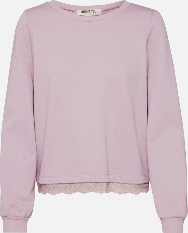 ABOUT YOU Sweatshirt 'Jenny' in rosa, Produktansicht
