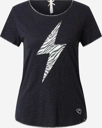 Key Largo Shirt in de kleur Zwart / Wit: Vooraanzicht