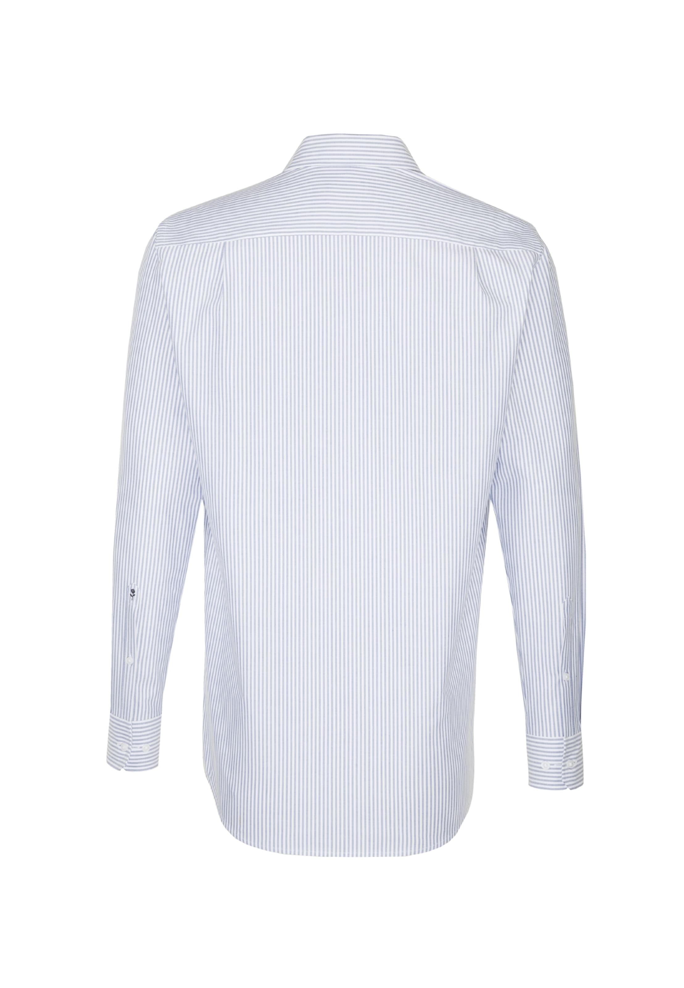 Hemd In Seidensticker Seidensticker In Hemd HellblauWeiß Hemd Seidensticker In HellblauWeiß WDEI9H2