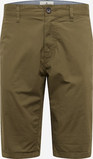 Pantaloni eleganți TOM TAILOR pe oliv, Vizualizare produs
