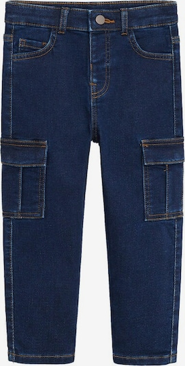 MANGO KIDS Jeans in blue denim: Frontalansicht
