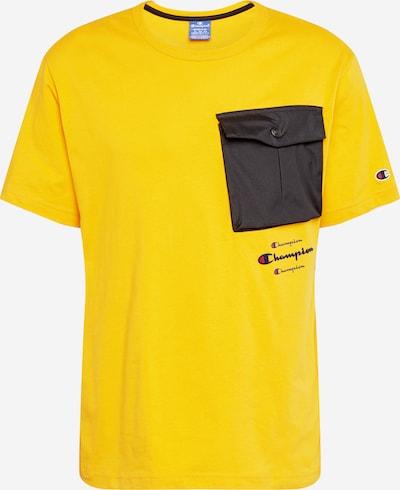 Champion Authentic Athletic Apparel Tričko - žlutá / černá, Produkt