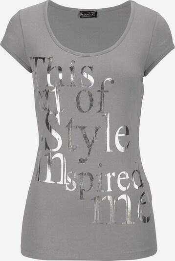 LAURA SCOTT Print-Shirt in grau, Produktansicht