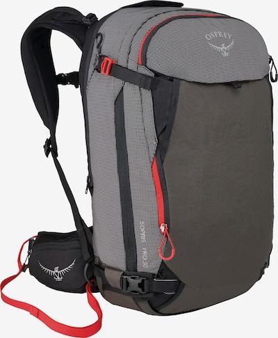 Osprey Alpinrucksack 'Avy' in greige / dunkelgrau / lachs / schwarz / weiß, Produktansicht