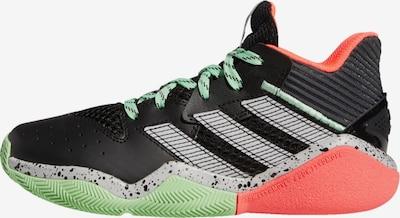 ADIDAS PERFORMANCE Basketballschuh 'Harden Stepback' in grau / mint / koralle / schwarz, Produktansicht