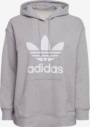 ADIDAS ORIGINALS Sweatshirt in grau / weiß, Produktansicht