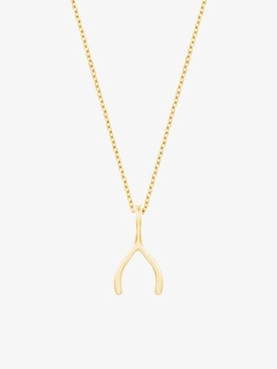 ID Fine Damen - Schmuck 'Wishbone' in gold, Produktansicht