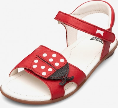 CAMPER Sandalen 'Right' in rot, Produktansicht