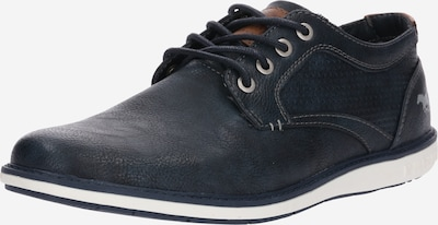 tengerészkék / barna MUSTANG Fűzős cipő, Termék nézet
