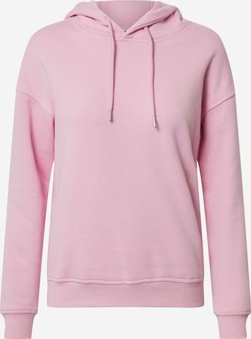 Bluză de molton de la Urban Classics pe roz