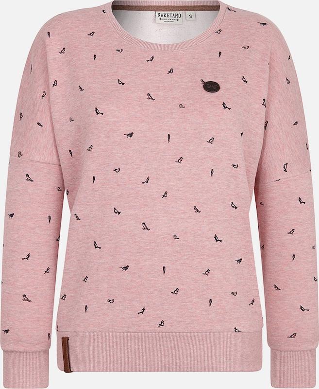 Naketano Sweatshirt 'Afterhour' in altRosa  Bequem und günstig
