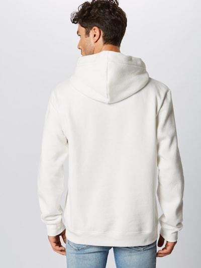 PARI Sweat-shirt 'Mick' en blanc: Vue de dos