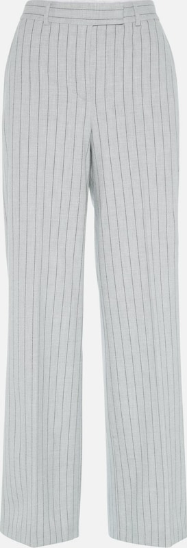 J.Lindeberg Anzughose 'Kori Fab Pinstripe' in hellgrau   graumeliert  Mode neue Kleidung