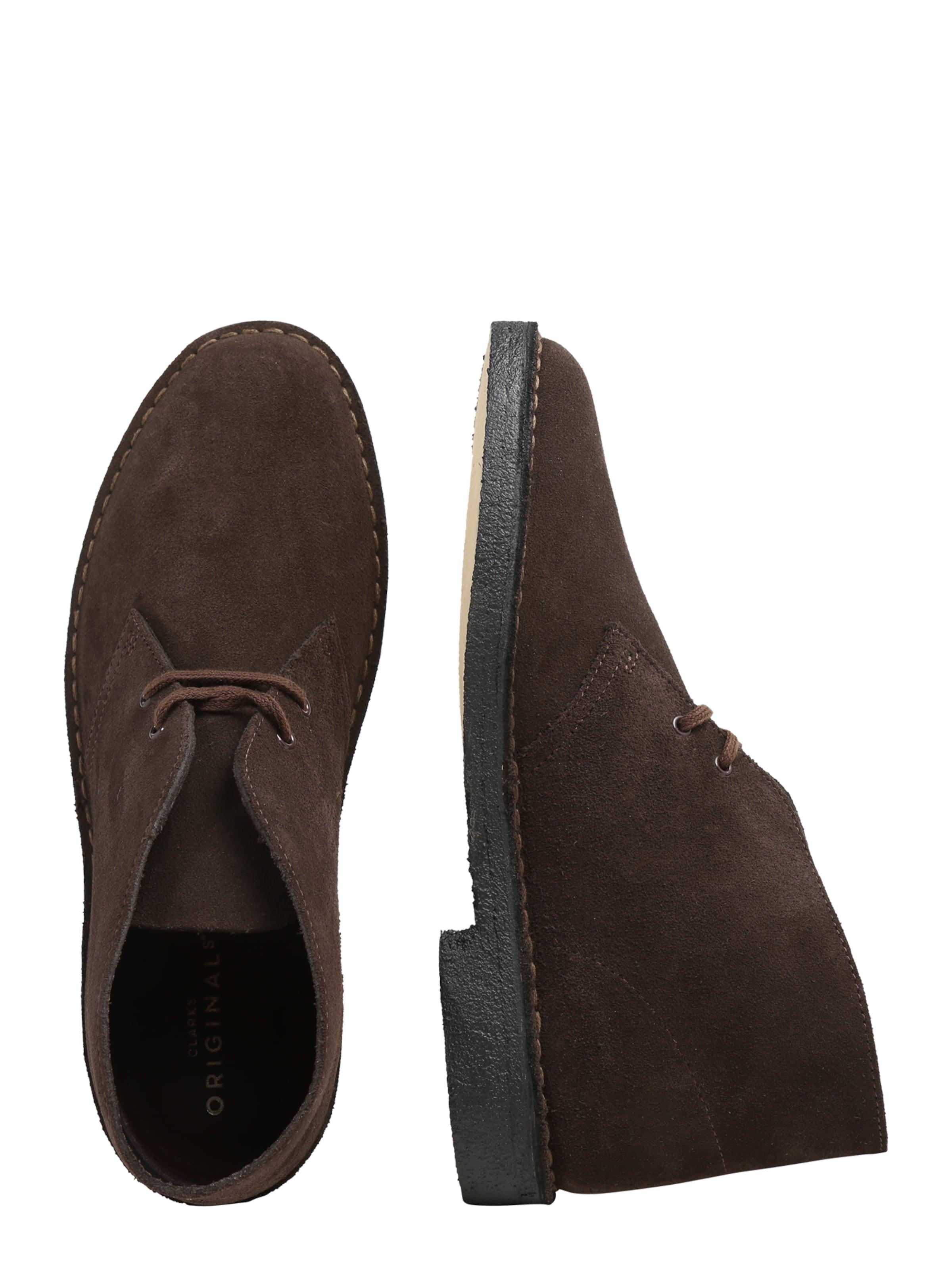 Dunkelbraun boots Clarks Desert Originals In doeWrCBx
