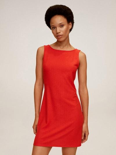 MANGO Kokteilové šaty - červená: Pohľad spredu