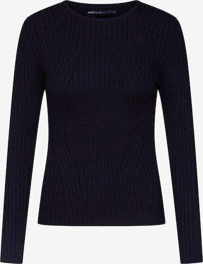 ONLY Pullover 'onlNATALIA L/S RIB EX KNT' in schwarz, Produktansicht