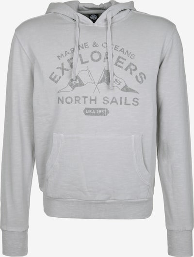 North Sails Sweatshirt in hellgrau / dunkelgrau, Produktansicht