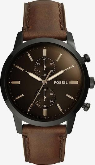 FOSSIL Chronograph-Uhr 'TOWNSMAN' in braun / schwarz, Produktansicht
