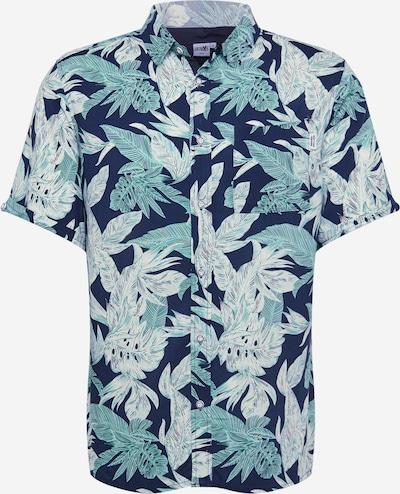 Hailys Men Hemd 'Hawaii' in dunkelblau, Produktansicht