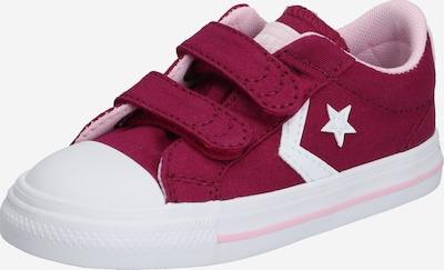 CONVERSE Sneaker 'Star' in beere / weiß, Produktansicht