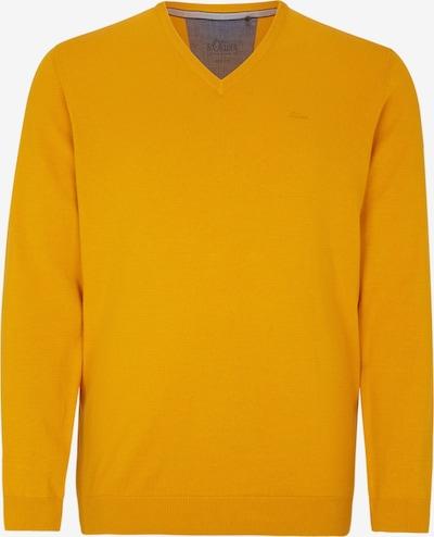 s.Oliver Men Big Sizes Pullover in orange, Produktansicht
