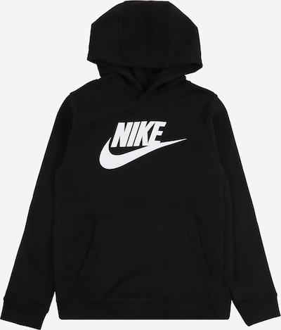 Nike Sportswear Jaka ar kapuci 'CLUB + HBR PO' pieejami melns, Preces skats
