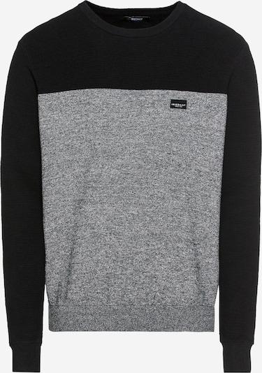 Iriedaily Svetr 'Auf Deck' - šedá / černá, Produkt